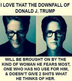 Rachel Maddow, you're my hero!