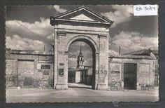 ALCALA DE HENARES - 5 - PUERTA DE MADRID - GARCIA GARRABELLA - (ZB-3074) (Postales - España - Comunidad de Madrid Antigua (hasta 1939) - Madrid Provincia) Big Ben, Watercolour, Building, Travel, Vintage Postcards, Antique Photos, Castles, Doors, Souvenirs