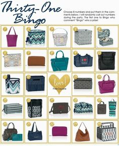Thirty One Gifts Fall 2015 Facebook Game