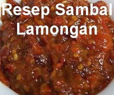 Resep Sambal Lamongan - Reality Worlds Tactical Gear Dark Art Relationship Goals Meat Sauce Recipes, Seafood Pasta Recipes, Meat Loaf Recipe Easy, Easy Meat Recipes, Potato Recipes, Cooking Recipes, Sambal Sauce, Sambal Recipe, Chowder Recipes