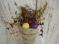 Eggs for Spring by D.J. Walk on Etsy
