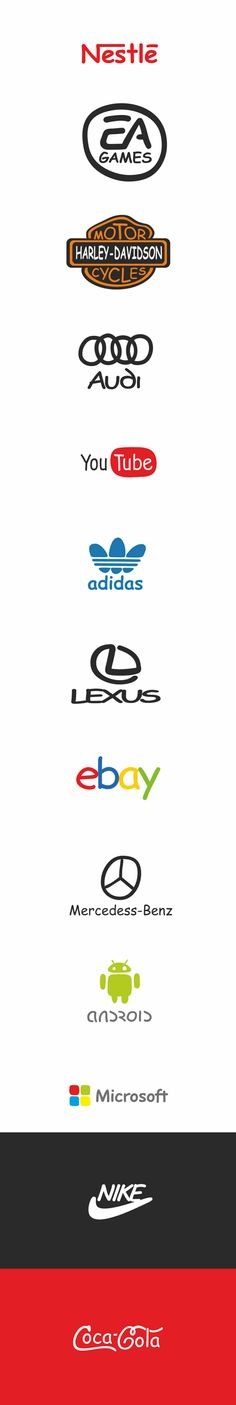 Marcas famosas em Comic Sans, por Oleg Tarasov