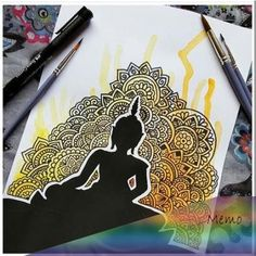 Best sharpie art diy creativity Ideas You are in the right place about Mandala Drawing dotwork Here Doodle Art Drawing, Cool Art Drawings, Zentangle Drawings, Mandala Drawing, Pencil Art Drawings, Art Drawings Sketches, Doodling Art, Zentangles, Drawing Ideas
