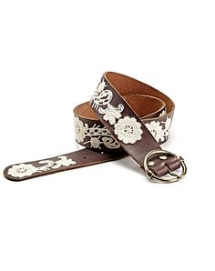 paisley floral embroidered belt- makes all jeans and dresses a little bit cuter ;)