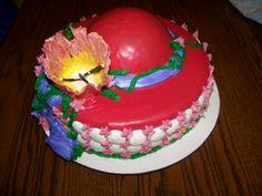 Red Hat Society Cake