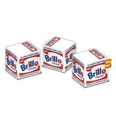 Andy Warhol Brillo Box Medium Plush - Pre-Order