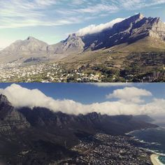 Hiking up Lions Head this afternoon was worth it for these views of Table Mountain & the Twelve Apostles!  #capetown #tablemountain #twelveapostles #12apostles #notthereligiouskind #africa #southafrica #hiking #landscape #surreytosouthafrica by jwindridge http://ift.tt/1ijk11S