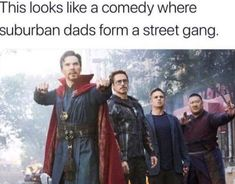 14 Dad Memes And Jokes That'll Inspire You To Wear Socks With Your Sandals - Marvel Memes Marvel Dc Comics, Marvel Avengers, Marvel Jokes, Funny Marvel Memes, Dc Memes, Avengers Memes, Funny Comics, Funny Memes, Avengers Cast