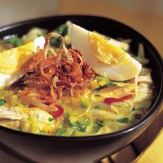 Recipe: Indonesian Chicken Soup (Soto Ayam)