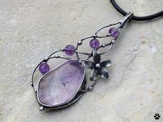 Popínavé kvítí - náhrdelník s ametrínem