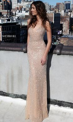 960d4ecece7 13 Best Nude evening dresses images in 2019