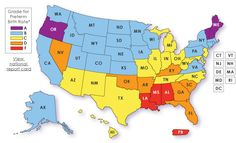 Prematurity Map of USA
