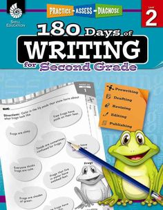 180 Days of Writing is an easy-to-use resource that provides second-grade students with practice in writing opinion, informative/explanatory, and narrative pieces while also strengthening their langua