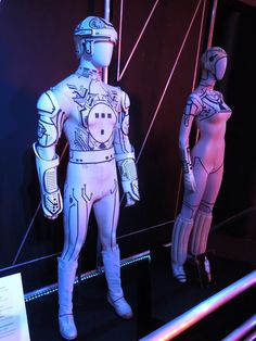 """Costumes from the original """"Tron"""""""