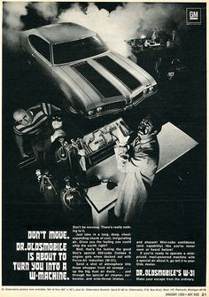 1969 Dr Oldsmobile W-31 Advertising Hot Rod Magazine January 1969