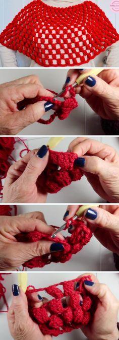 How To Crochet Beautiful Poncho