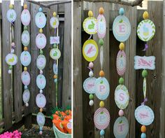 I adore this garland! Templates and instructions on how to make! love!!!