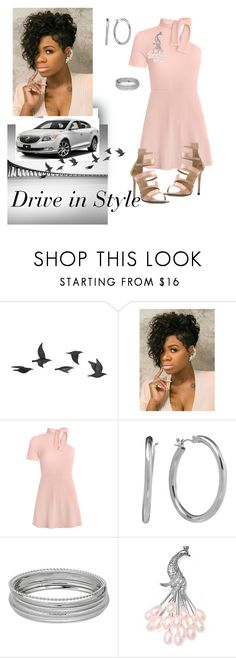 """""""Drive in Styles"""" by jfkayla ❤ liked on Polyvore featuring Jayson Home, Chaps, Bling Jewelry and Marc Ellis"""