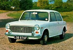 1968 Austin America (also sold in the U.S. as the MG 1100, and in some countries as the Austin and Morris 1100 and 1300.) by aldenjewell, via Flickr