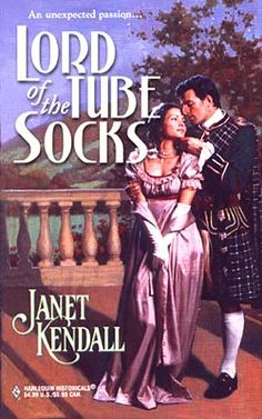 """Writing a romance novel is a creative process and far from formulaic. But romance readers pick up each and every novel with certain expectations firmly in place."" Lord of the tube socks??? Really???"