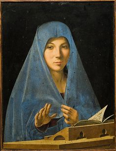 "Antonello da Messina - ""The Virgin Annunciate"" #lmessina #sicilia #sicily"