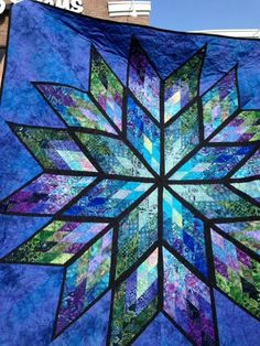 Prismatic Star, Quiltworx.com, Made by Kathleen Prine