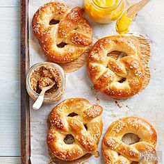 Classic Soft Pretzels From Better Homes and Gardens, ideas and improvement projects for your home and garden plus recipes and entertaining ideas.