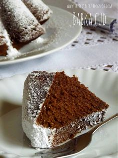 Polish Desserts, Polish Recipes, Cookie Desserts, Sweet Desserts, No Bake Desserts, Polish Food, Pudding Cake, Coffee Cake, No Bake Cake