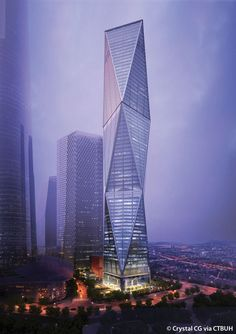 Diagonal Tower -                  摩天大楼中心
