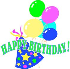 637 best happy birthday clip art images on pinterest birthday rh pinterest com birthday wishes clip art for guy birthday wishes clip art for girl