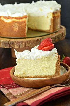 If you're hoping to make the PERFECT VANILLA CHEESECAKE recipe, start with my basic tips and tricks! Creamy, light, and delicious!