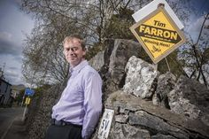 """'Liberal Democrats winning here!"""" proclaim the bright orange posters. This is one of the few constituencies where it is actually true."""