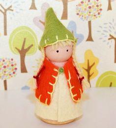 Peg Doll by Barbara Gould