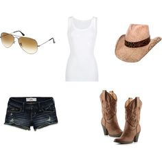 Cowgirl (The outfit my husband really wants me to wear. lol.)