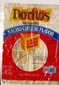 1980s Doritos bag