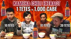 KAMEHA CHALLENGE chili extract 1 tetes = 1000 cabe - YouTube