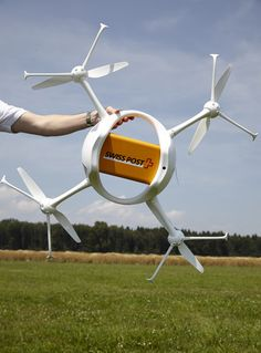 Delivery Drones Take Flight, And They Aren't From Amazon