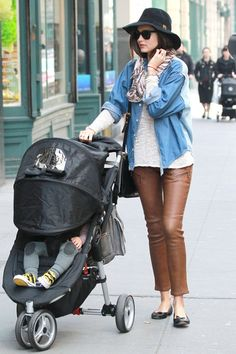 Even mommy's on the go can get the look and pull it off effortlessly.