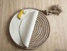 DIY Απλό Χαλί από σχοινί | SunnyDay