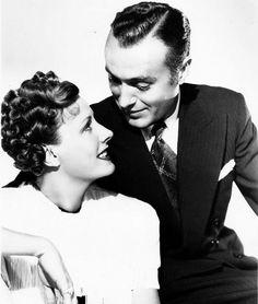 Irene Dunne and Charles Boyer for Love Affair, 1939.