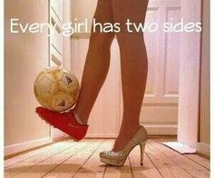 Every girl has two sides!