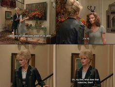 Increase Your Cardio & Watch Your Ripped Abs Develop! British Humor, British Comedy, Edina Monsoon, Exercise For Six Pack, Patsy Stone, Joanna Lumley, Ab Fab, American Dad, Absolutely Fabulous