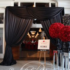 Corporate event entrance ways and canopies Toronto