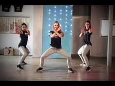 24K - Bruno Mars - Davy Johnes remix - Easy Combat Fitness Dance Choreography - YouTube