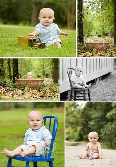 outdoor baby portraits - Google Search