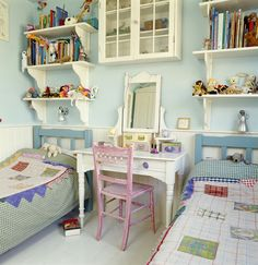 Country Traditional Kids Room Photo - Lonny