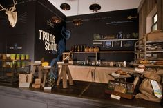 Tell Tale Preserve Company — trunk show // interior decor and packaging by CDA // chendesign.com