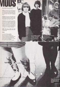 Mod Revival Girls, London, 1987