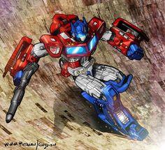 Optimus Prime descending Unicron's jaws by danbrenus on DeviantArt Gi Joe, Power Rangers, Mileena, Transformers Optimus Prime, Alien Art, Super Robot, Robot Art, Geek Culture, Pop Culture