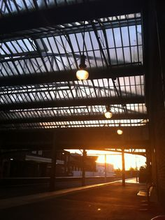 Stoke-on-Trent Railway Station Early Morning
